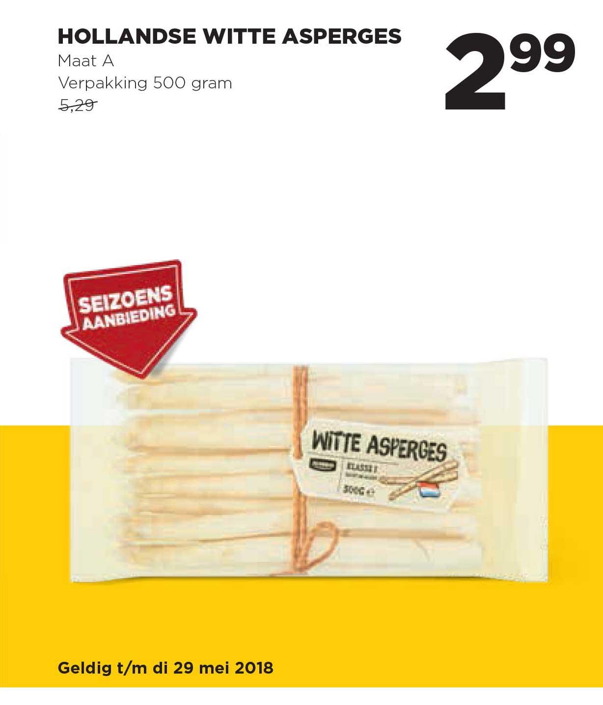 Jumbo Hollandse Witte Asperges