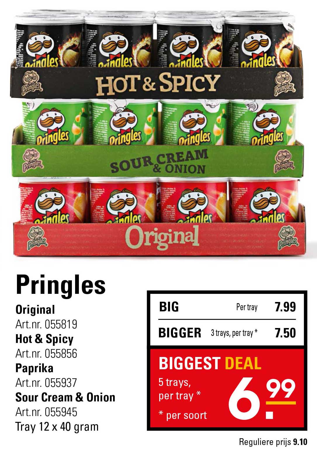 Sligro Pringles