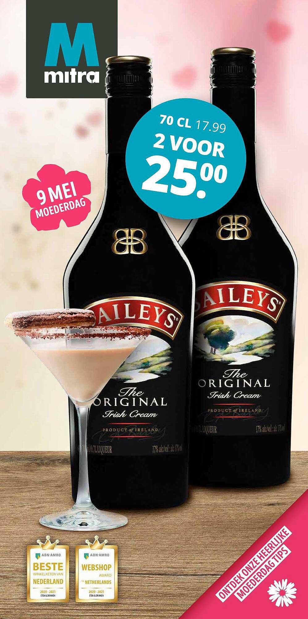 Mitra Baileys The Original Irish Cream