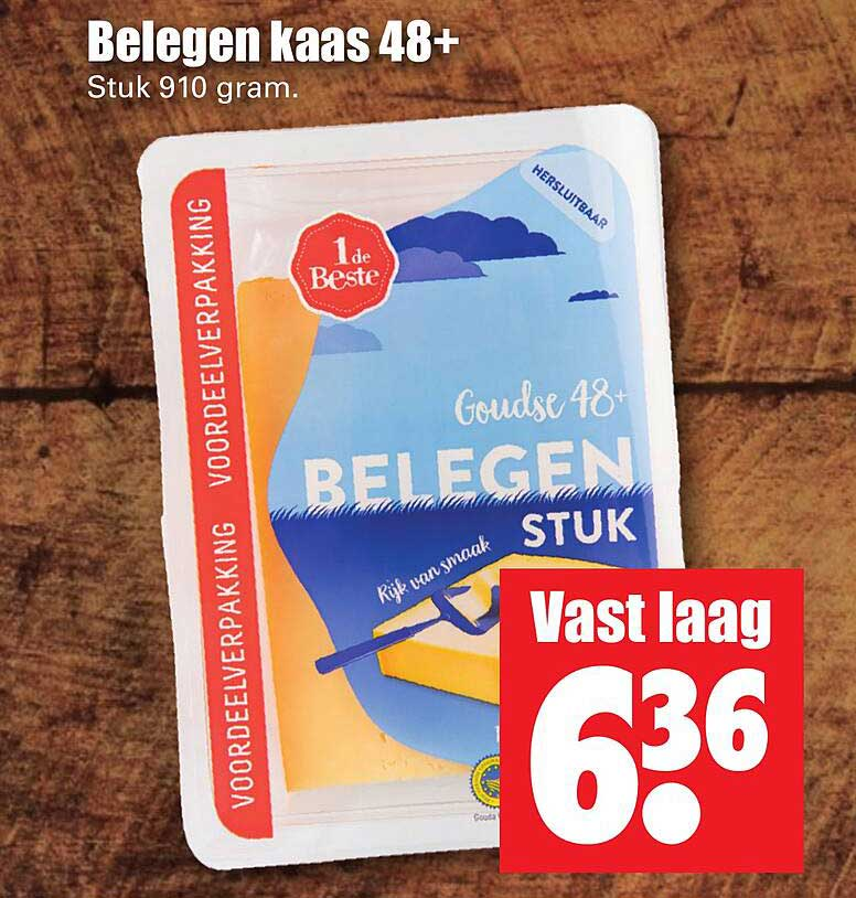 Dirk Belegen Kaas 48+