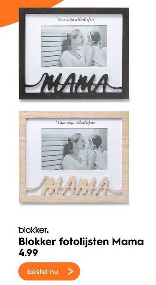 Blokker Blokker Fotolijsten Mama