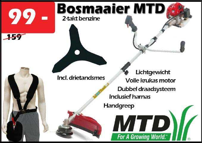 ITEK Bosmaaier MTD