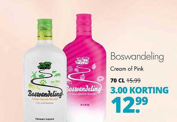 Mitra Boswandeling Cream Of Pink 3.00 Korting