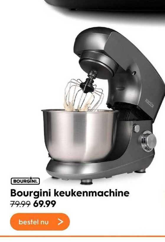 Blokker Bourgini Keukenmachine