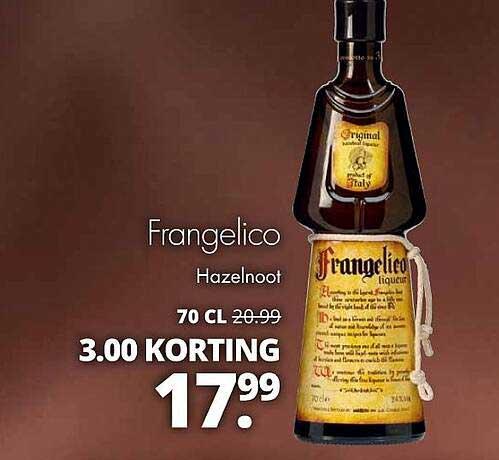 Mitra Frangelico Hazelnoot 3.00 Korting