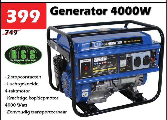 ITEK Generator 4000W