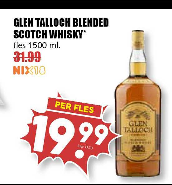 MCD Supermarkt Glen Talloch Blended Scotch Whisky