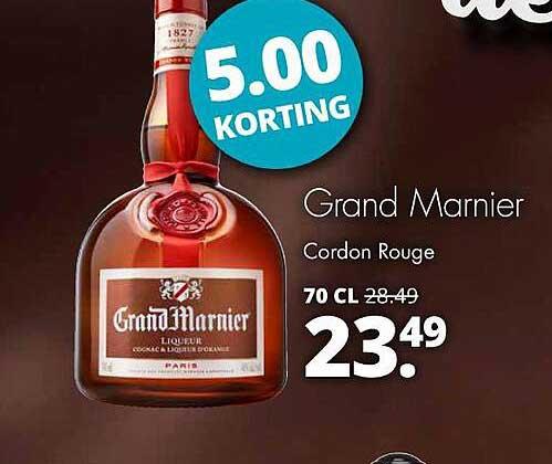 Mitra Grand Marnier Cordon Rouge 5.00 Korting