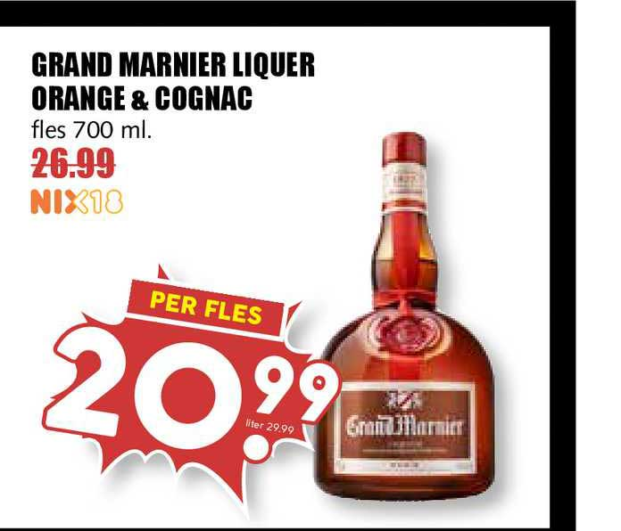 MCD Supermarkt Grand Marnier Liquer Orange & Cognac