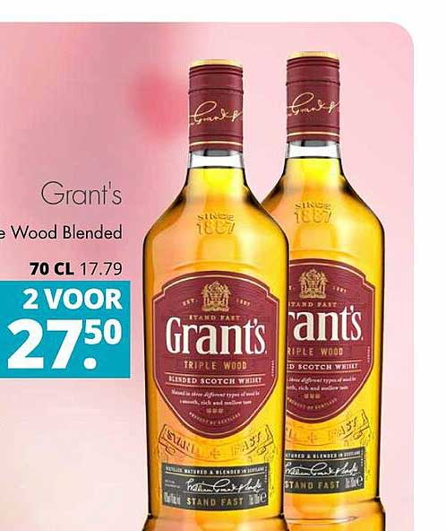 Mitra Grant's Triple Wood Blended Scotch Whiskey