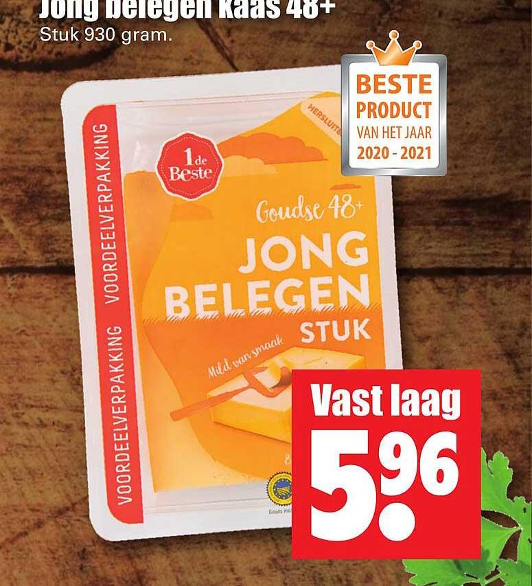 Dirk Jong Belegen Kaas 48+