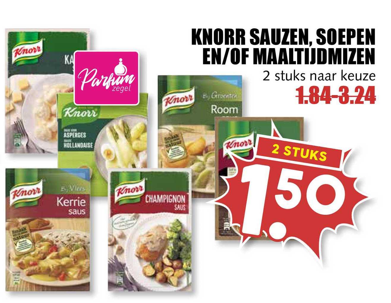 MCD Supermarkt Knorr Sauzen, Soepen En-of Maaltijdmizen
