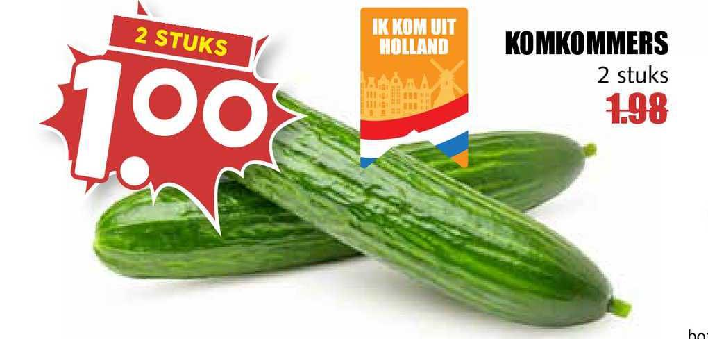 MCD Supermarkt Komkommers