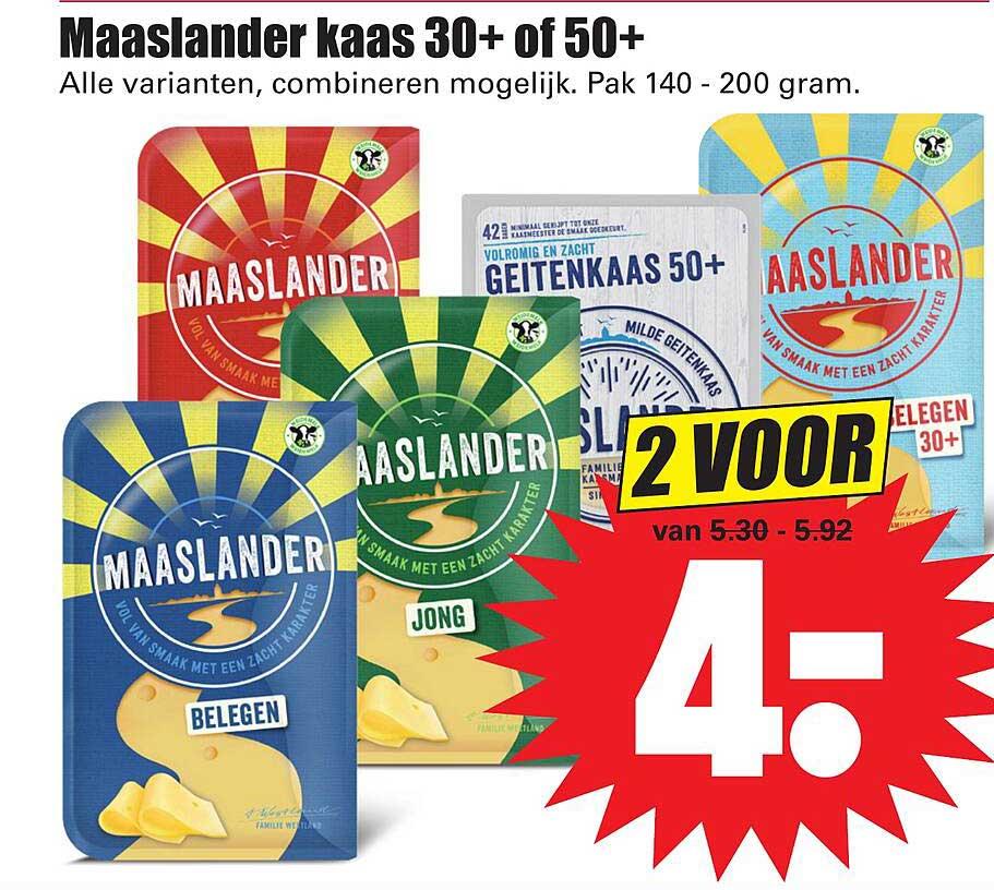 Dirk Maaslander Kaas 30+ 0f 50+
