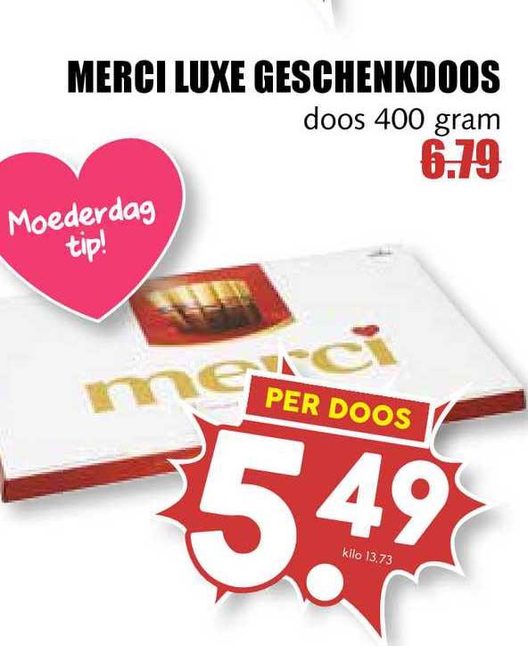 MCD Supermarkt Merci Luxe Geschenkdoos