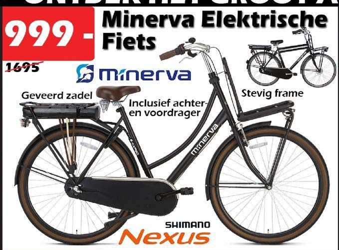 ITEK Minerva Elektrische Fiets