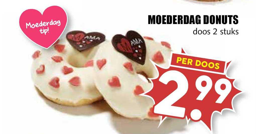 MCD Supermarkt Moederdag Donuts