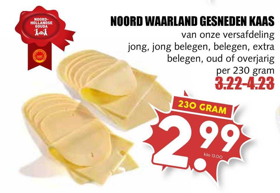 MCD Supermarkt Noord Waarland Gesneden Kaas