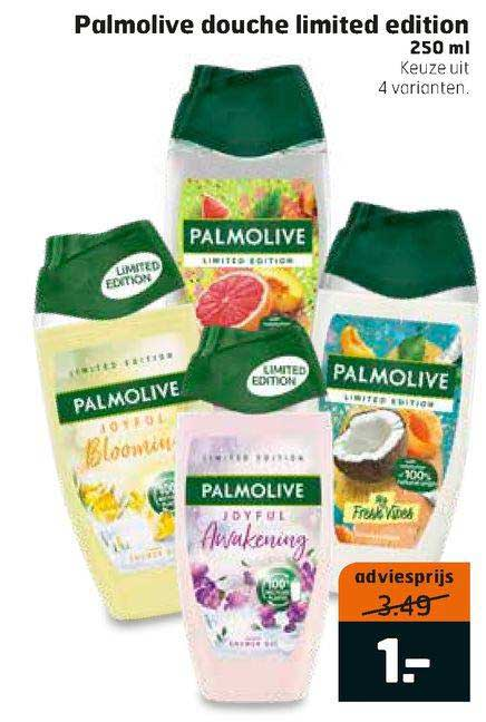 Trekpleister Palmolive Douche Limited Edition 250 Ml