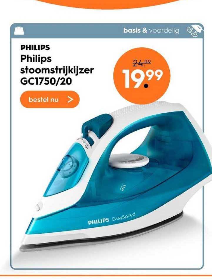 Blokker Philips Stoomstrijkijzer GC1750-20