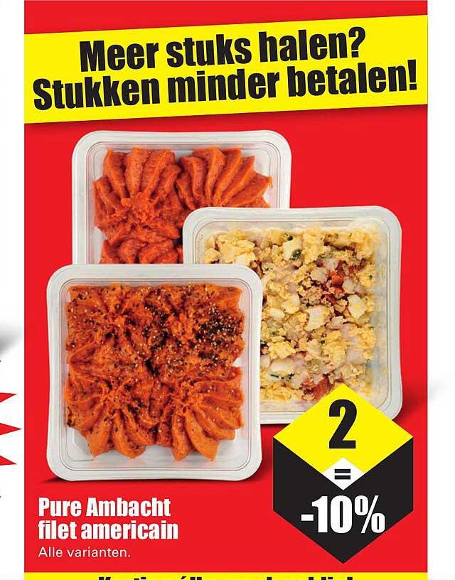 Dirk Pure Ambacht Filet Americain