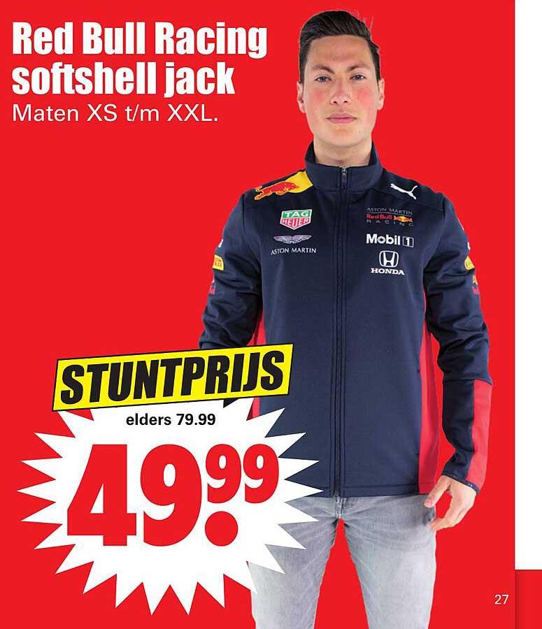Dirk Red Bull Racing Softshell Jack