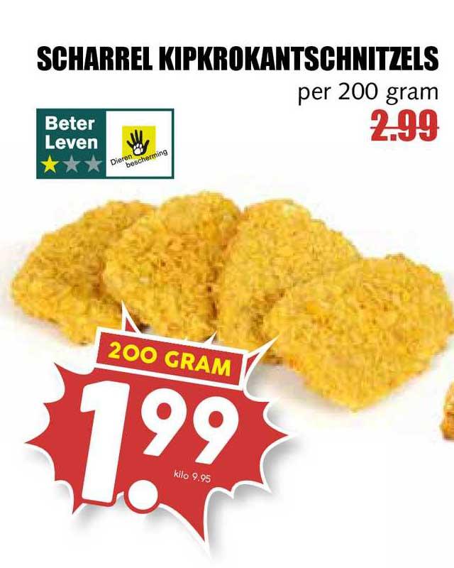 MCD Supermarkt Scharrel Kipkrokantschnitzels