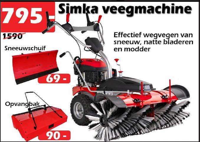 ITEK Simka Veegmachine