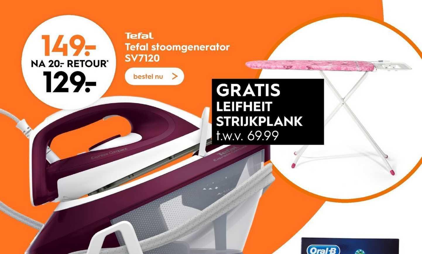 Blokker Tefal Stoomgenerator SV7120