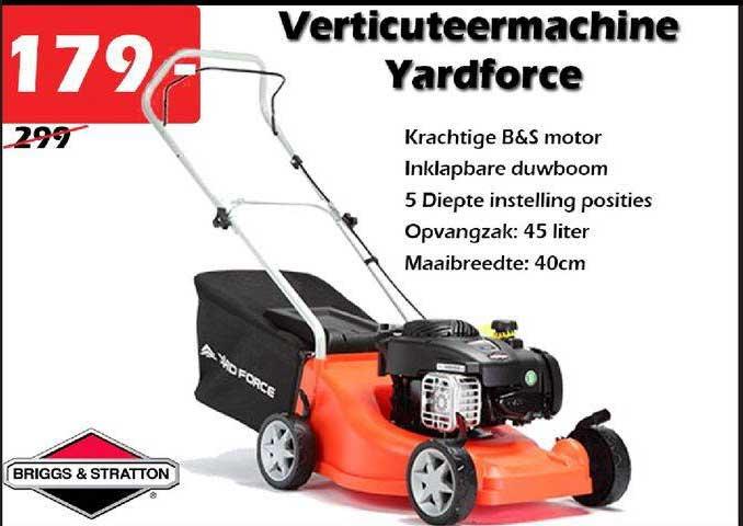 ITEK Verticuteermachine Yardforce