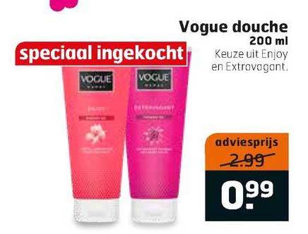 Trekpleister Vogue Douche 200 Ml