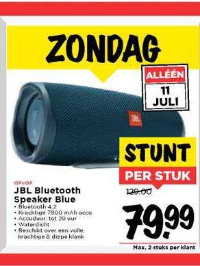 Vomar JBL Bluetooth Speaker Blue