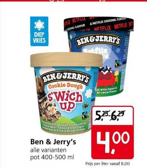 Jan Linders Ben & Jerry's