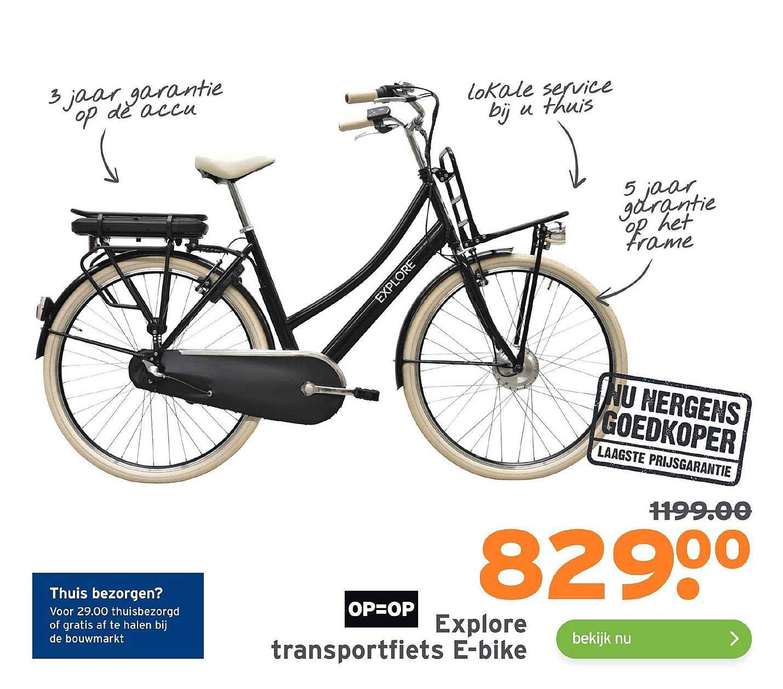 Gamma Explore Transportfiets E-Bike