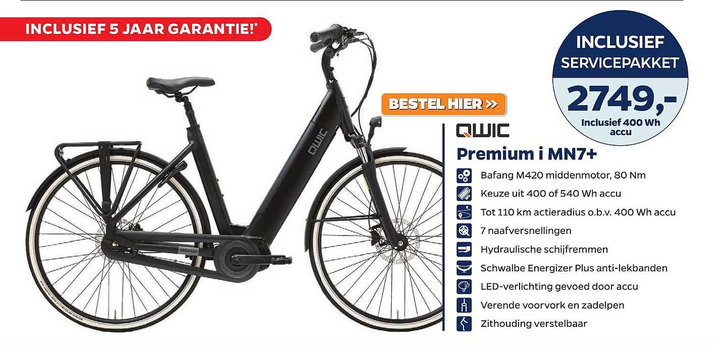 Bike Totaal QWIC Premium I MN7+