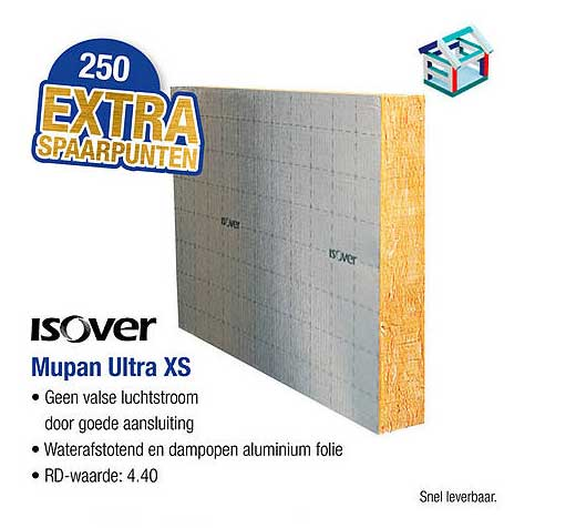 PontMeyer Isover Mupan Ultra XS