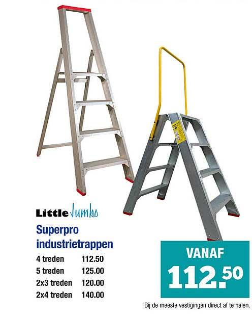 PontMeyer Little Jumbo Superpro Industrietrappen