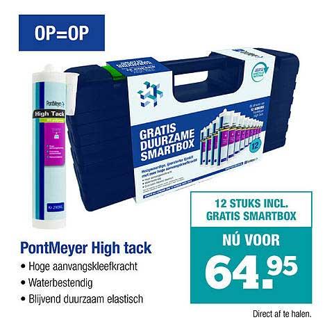 PontMeyer PontMeyer High Tack
