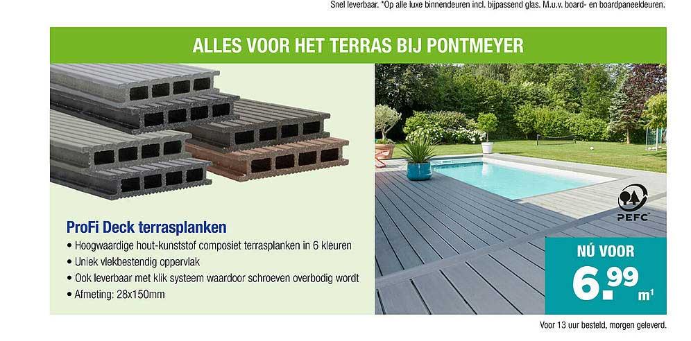 PontMeyer ProFi Deck Terrasplanken