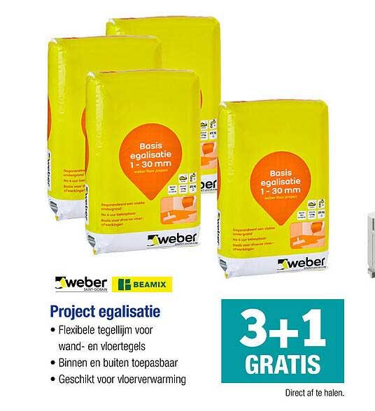 PontMeyer Weber, Beamix Project Egalisatie 3+1 Gratis