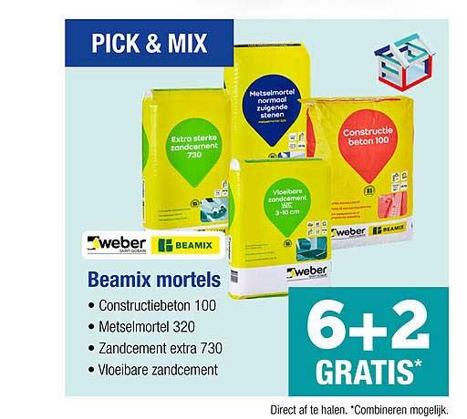 PontMeyer Weber Beamix Mortels 6+2 Gratis