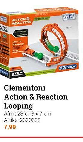 Clementoni Action & Reaction Startset, 50dlg