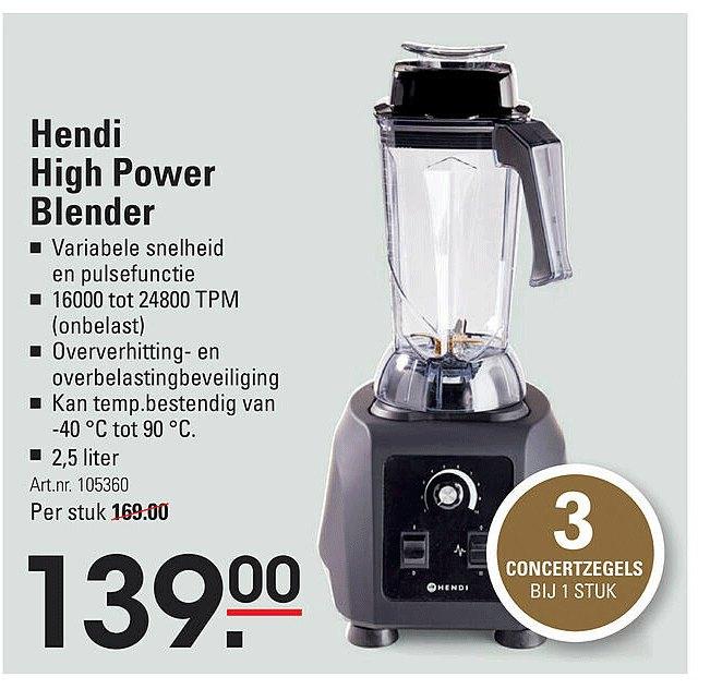 Sligro Hendi High Power Blender