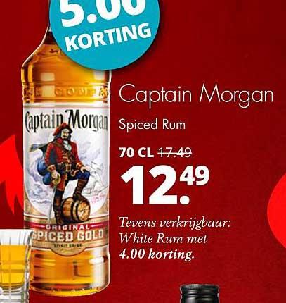 Mitra Captain Morgan Spiced Rum