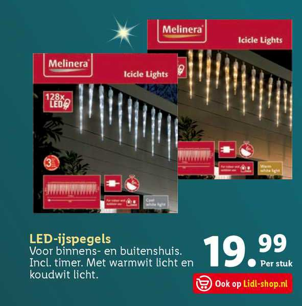 Lidl LED-ijspegels