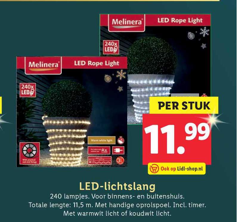 Lidl LED-lichtslang