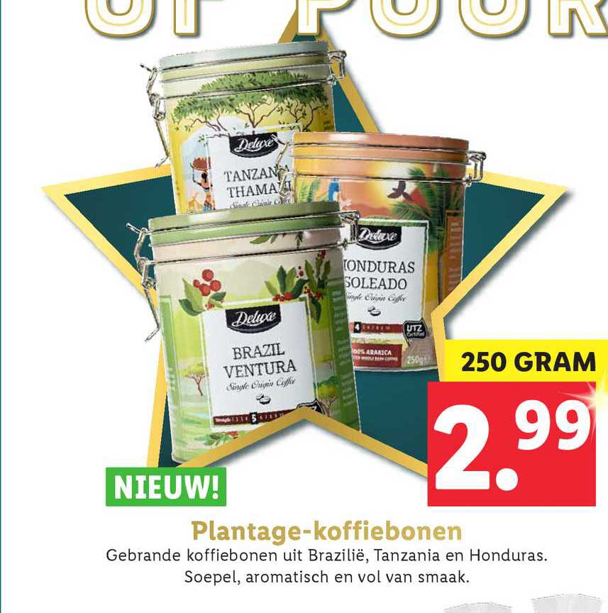 Lidl Plantage Koffiebonen