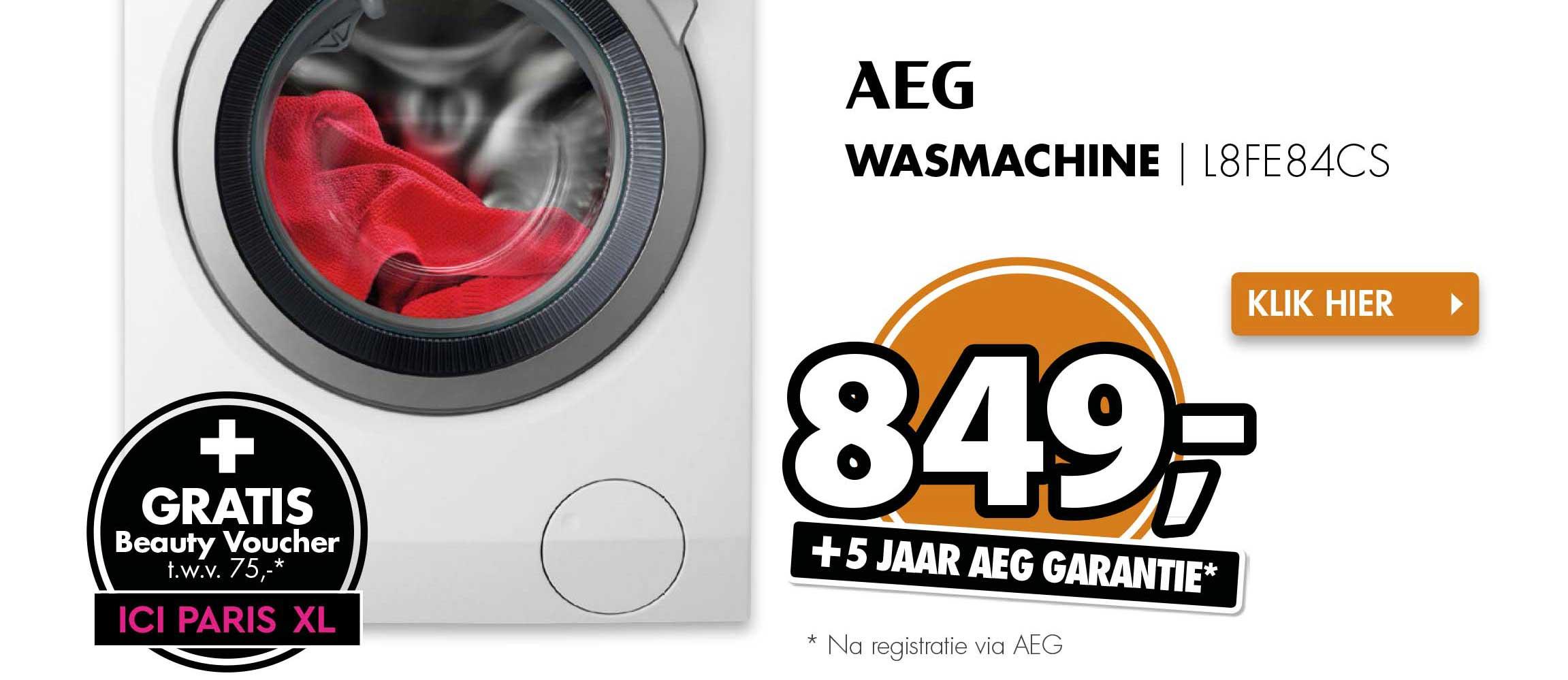 Expert Aeg Wasmachine L8FE84CS