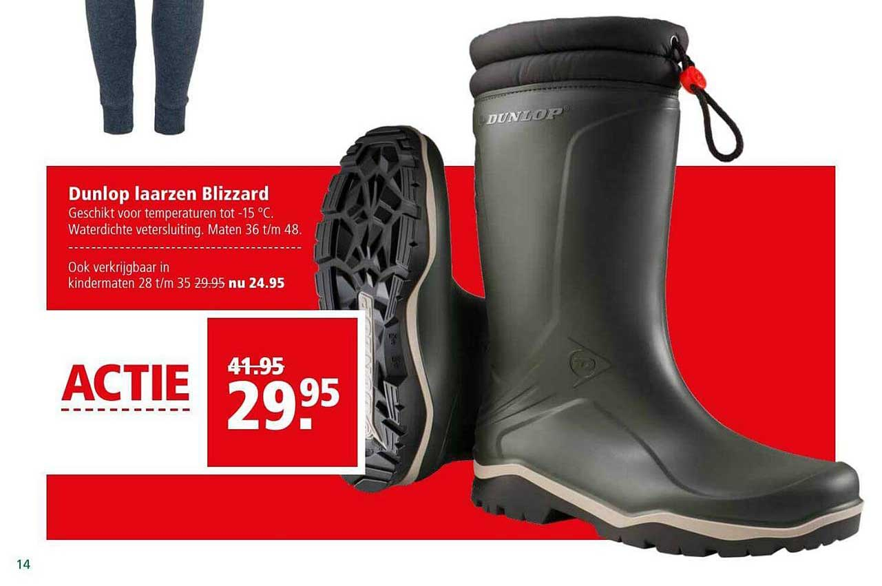 Dunlop Laarzen Blizzard Aanbieding bij Welkoop
