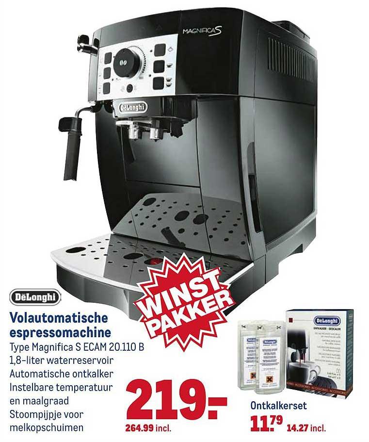 Makro Delonghi Volautomatische Espressomachine